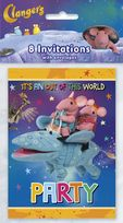 Clangers Invitations
